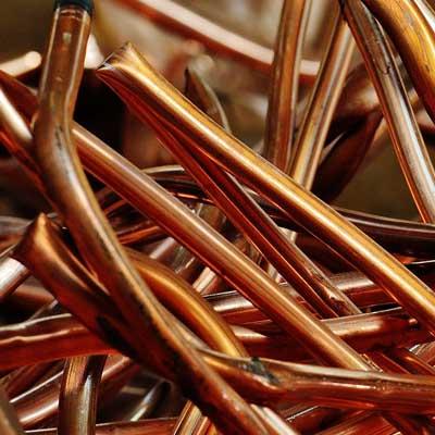 Scrap Metal Recycling Copper
