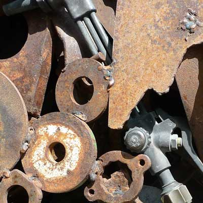 Scrap Metal Recycling Steel